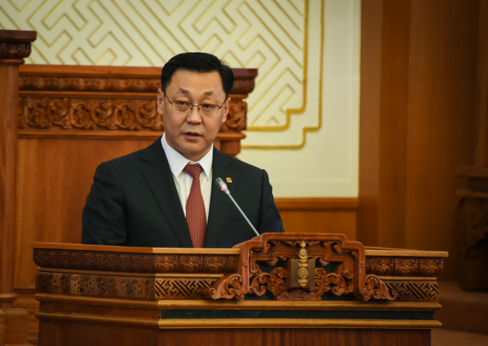Монгол Улсын Ерөнхий сайд Ж.Эрдэнэбат