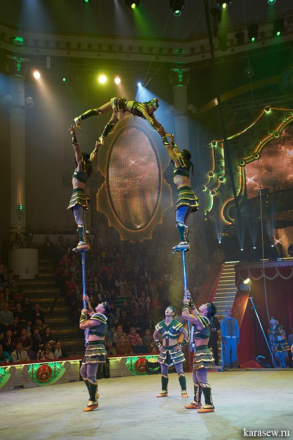 Д.Мөнхбаяр ахлагчтай оролцсон циркийн жүжигчид