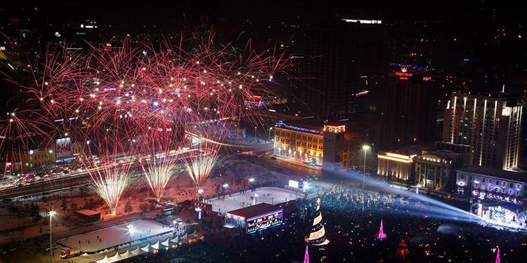 Шинэ жилийн баяртай холбогдуулан...