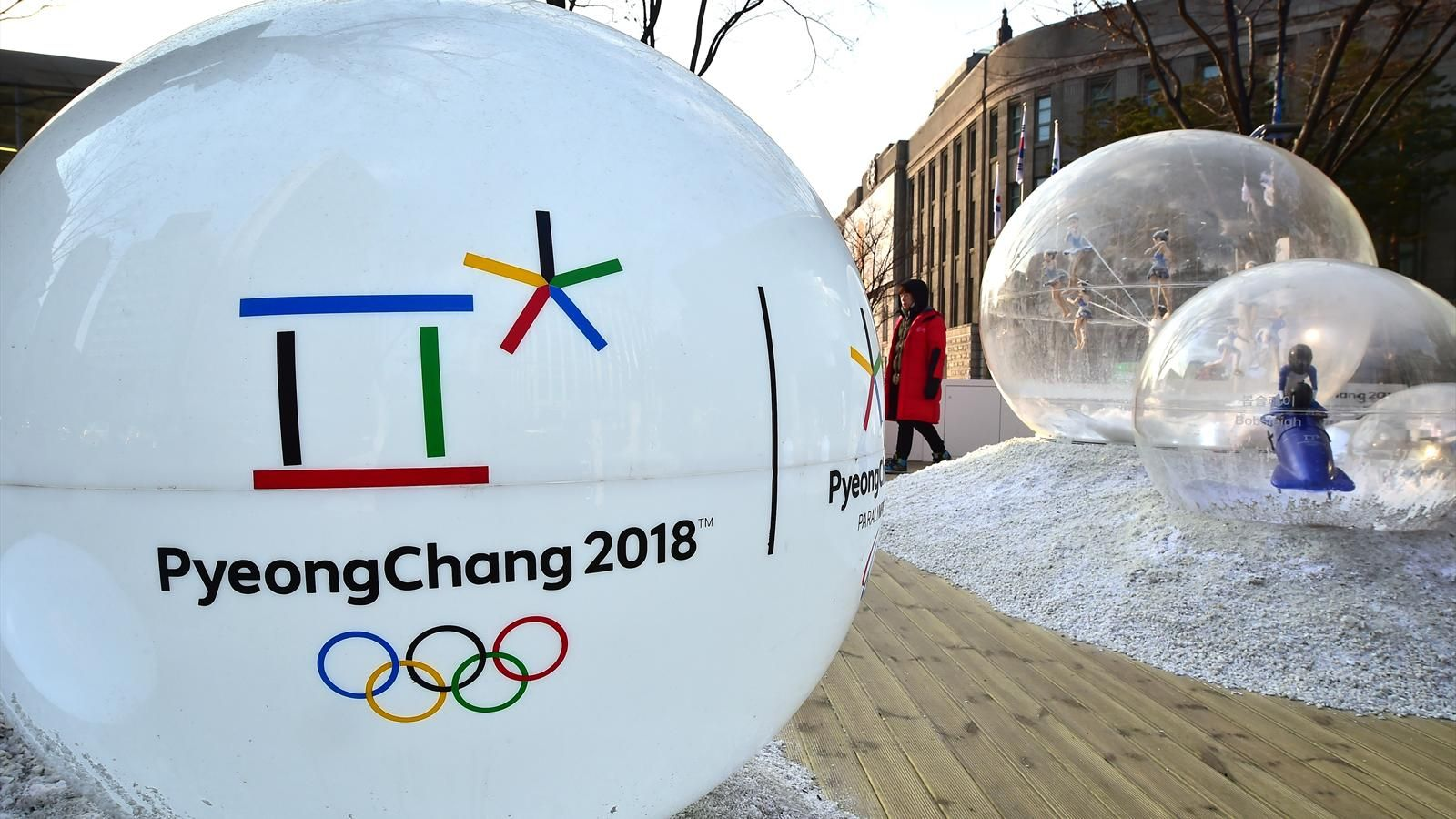 Пёнчаны өвлийн олимпын наадамд...