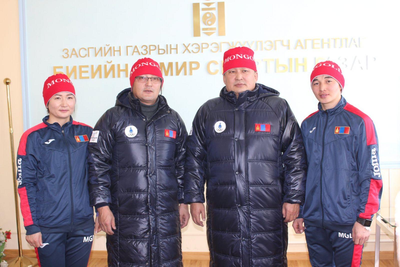 Өвлийн олимпод оролцох Монголын баг...