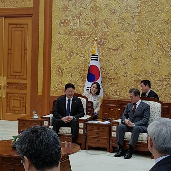 Монгол Улсын Ерөнхий сайд БНСУ-ын...