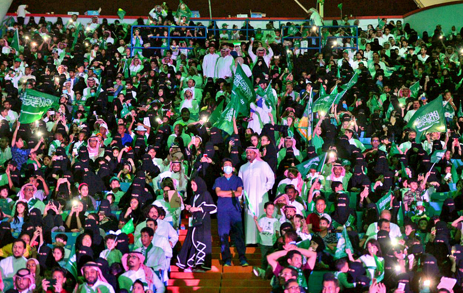 Саудын Араб эмэгтэйчүүд спортын...
