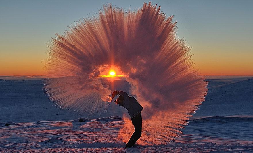 Тэсгим хүйтэнд халуун ус ЦАС...
