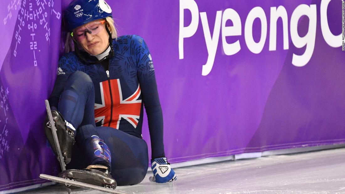 ПёнЧаны Өвлийн олимпийн торгон агшин