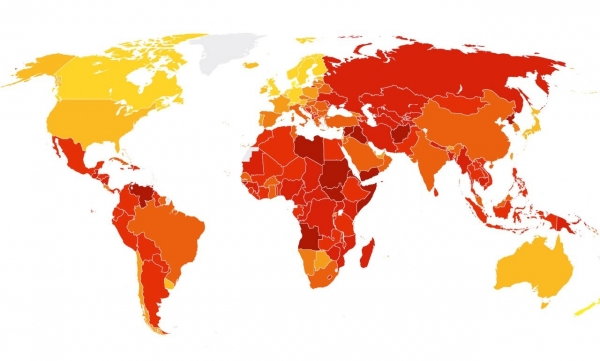 Манай Улс авлигын индексээр...