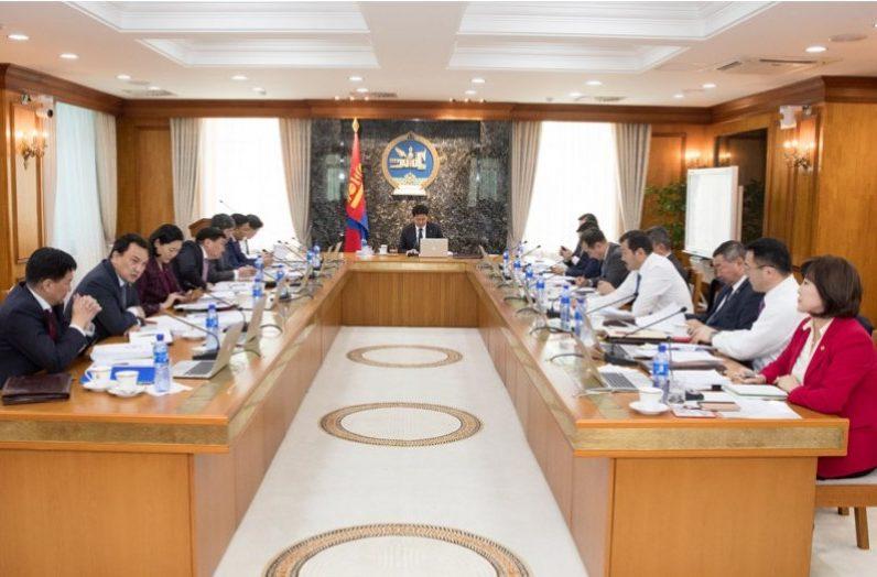 Монгол Улсын Засгийн газар ээлжит хуралдаанаа хийнэ