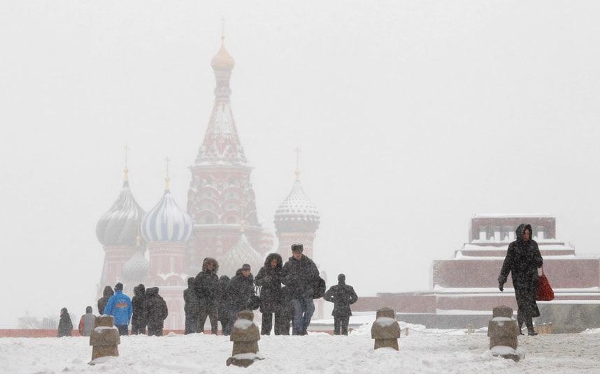 Москва хотод их хэмжээний ЦАС орж...