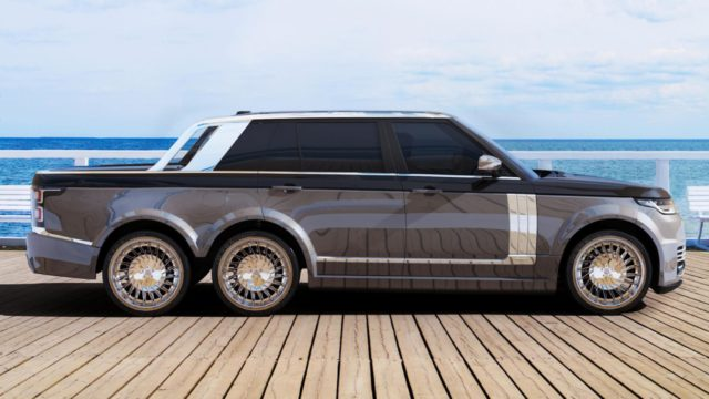 Range Rover-6X6-car