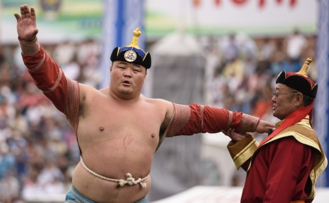 MONGOLIA-FESTIVAL-SPORTS-WRESTLING