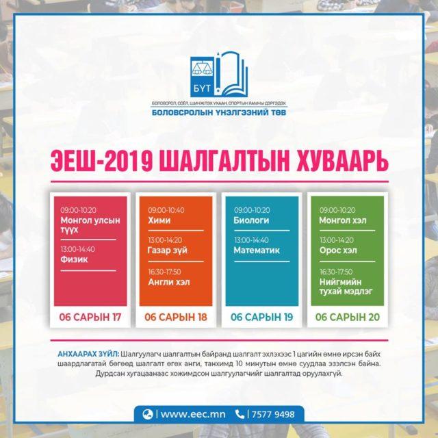 elseltiin-eronhii-shalgalt-2019
