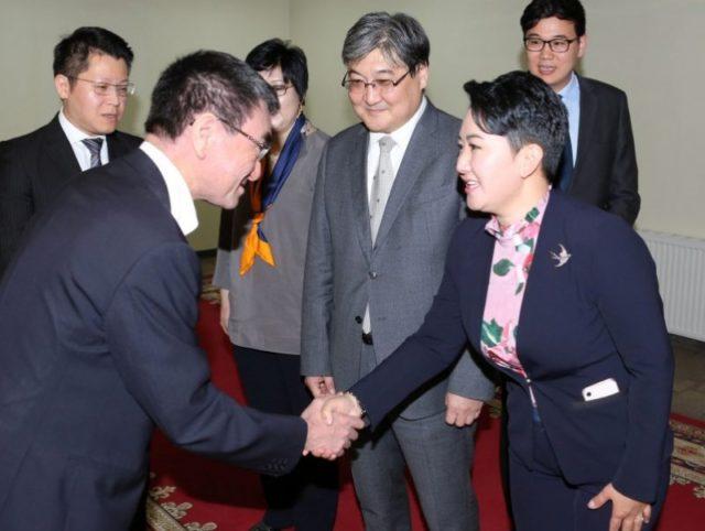 Япон Улсын Гадаад хэргийн сайд Т.Коно